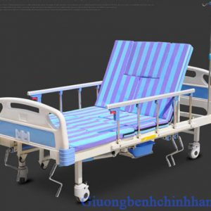 Giường bệnh nhân 5 tay quay Akiko A85