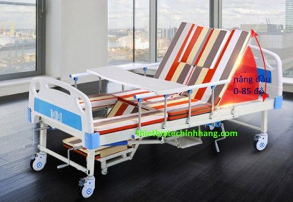 Giường bệnh nhân 3 tay quay Akiko A83