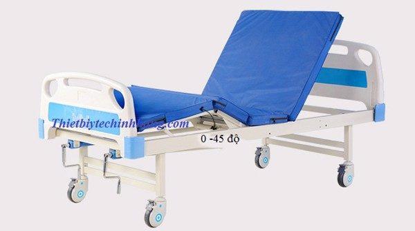 Giường bệnh nhân 2 tay quay Nakito