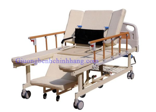 giường bệnh nhân tách thành xe lăn