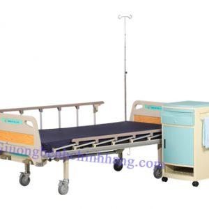 Giường bệnh 2 tay quay Hồng Kỳ HK-9006