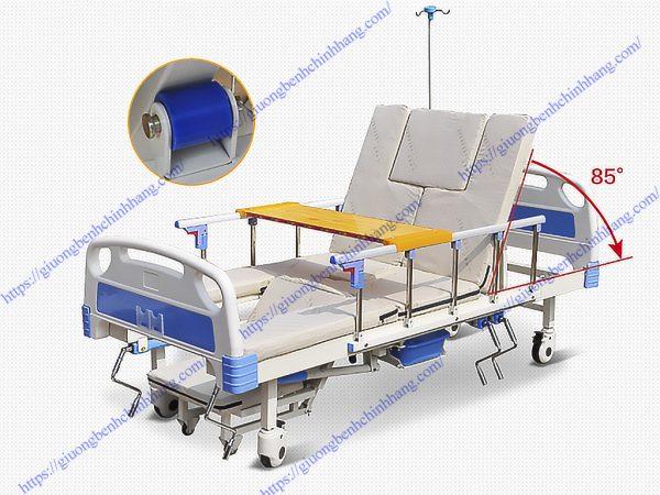 Giường bệnh nhân 4 tay quay 11 chức năng