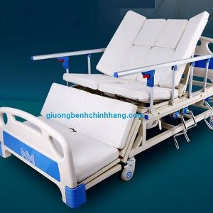 Giường bệnh nhân đa năng 4 tay quay