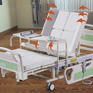 Giường Bệnh Điều Khiển Điện Đa Chức Năng NTK-12
